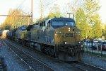 CSX 361 leads an S439
